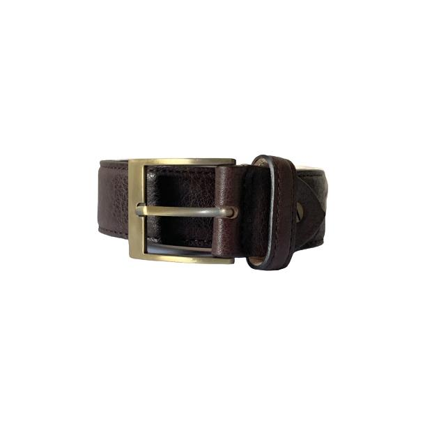 Leather Espresso Brown Belt full-size #1