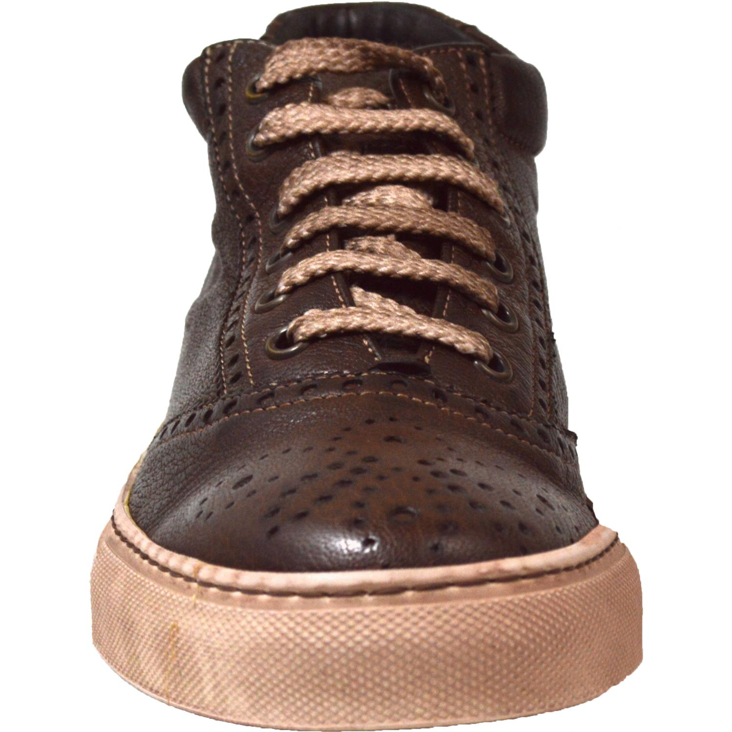 73f510463a6b34 ... Victoria Dip Dyed Dark Brown Low Top Sneakers thumb ...