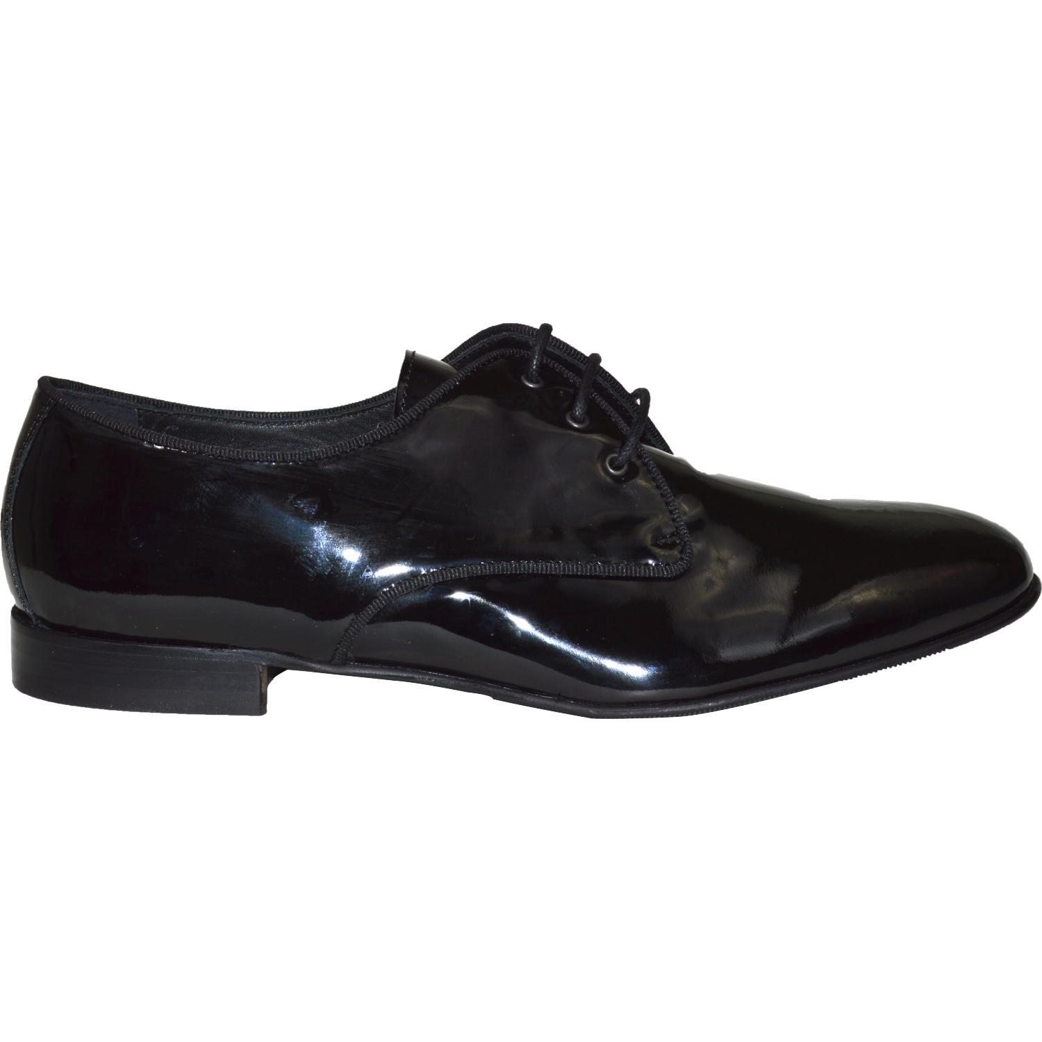 Dakota Dip Dyed Black Leather Oxford Lace Up Shoes | Paolo ...